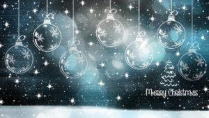 星空に輝く透明な風船