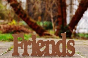 Friendsの文字